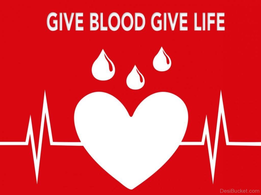 The joy of giving blood