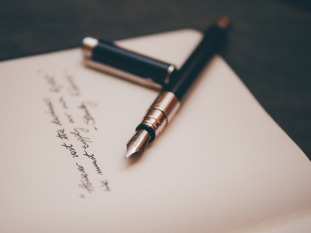 A letter from draft