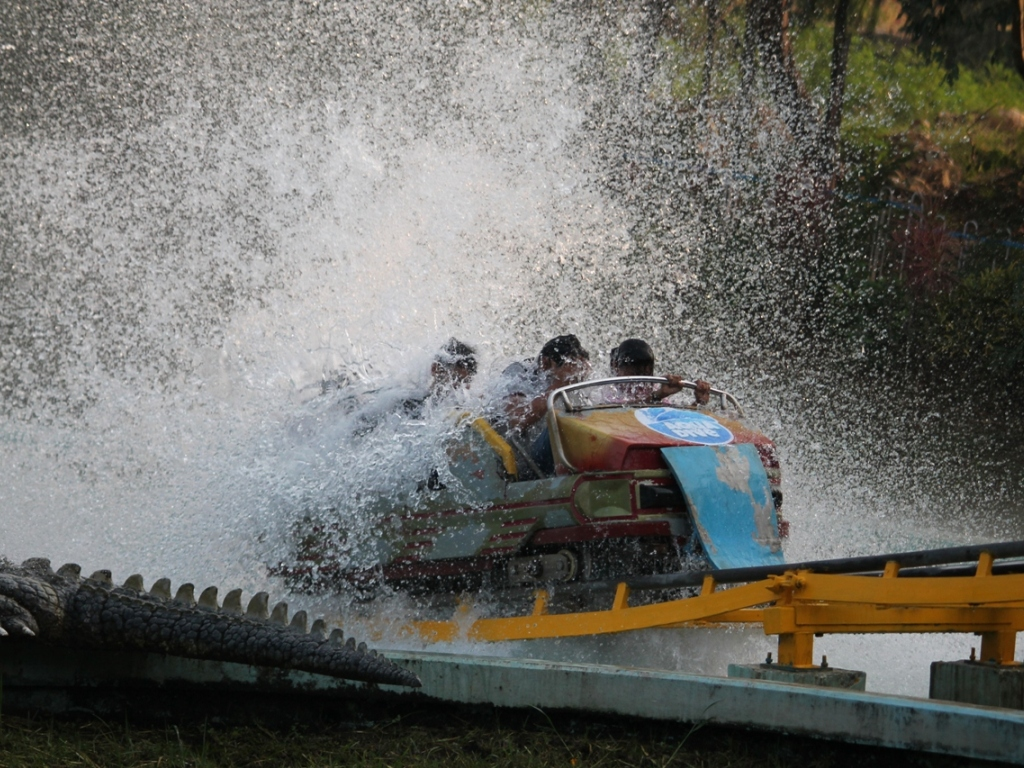 A Long Ride To Essel World